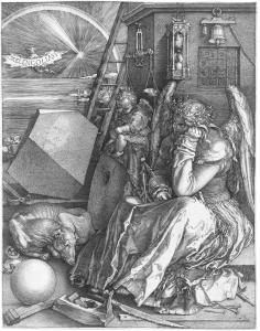 Melencolia I (B. 74; M., HOLL. 75)*engraving  *24 x 18.8 cm *1514