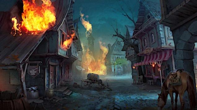 Elizaveta_Lebedeva_fantasy_art_digital_art_village_burning_horse-1508205.jpg